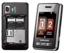 Dual-SIM phone