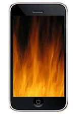 Cell phone overheat